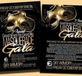"3rd Annual ""Good Times For Good Life"" Masquerade Gala"